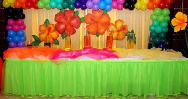 Creativas ideas para decorar con globos fiestas infantiles - Ideas creativas para decorar ...