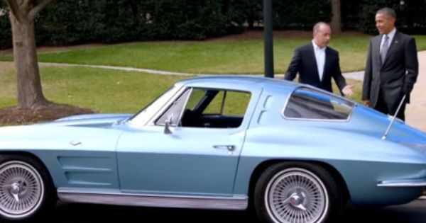 Classic Corvette Stingray C2 Ride For Barack Obama Hosted By