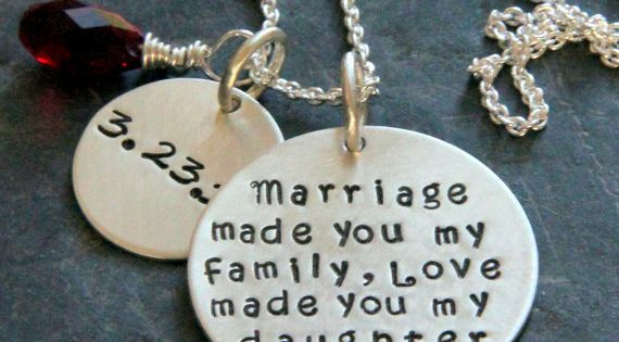 Wedding Gifts For Stepmom: Daughter Of The Groom Gifts