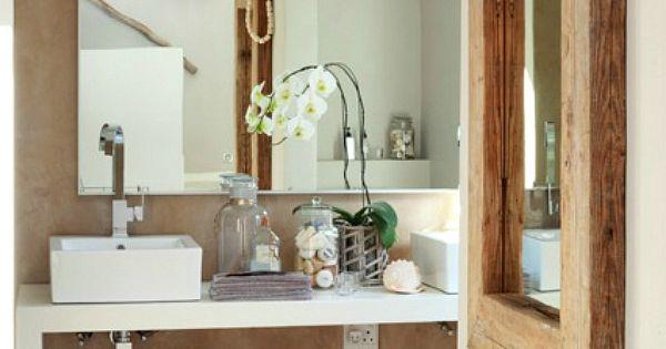 Een gezellige sfeer in de badkamer nig wonen my future home pinterest badkamer - Gezellige badkamer ...