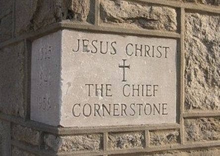 the cornerstone of christian faith the As a community of christians, we are learning together how to love the lord  properly understood and received by the community of faith and with the aid of.