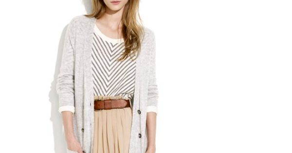 Baggy sweaters, Cardigans and Skirts on Pinterest