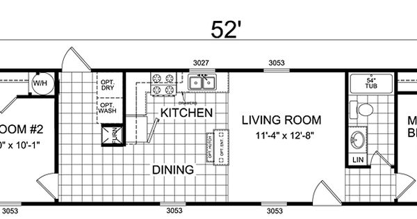 Double Wide Floor Plans Nc: Clayton Double Wide Mobile Homes Floor Plans, Single Wide