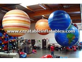 Giant Inflatable Planets Props Advertising Balloons Giant Inflatable Outer Space Theme