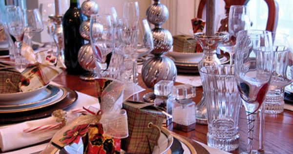 Cheap Christmas Table Decoration Ideas Decorations Photo Gallery