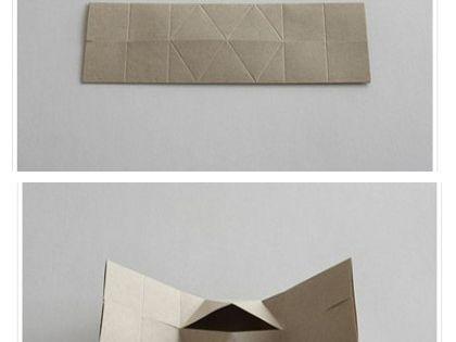 cardboard house gift box //