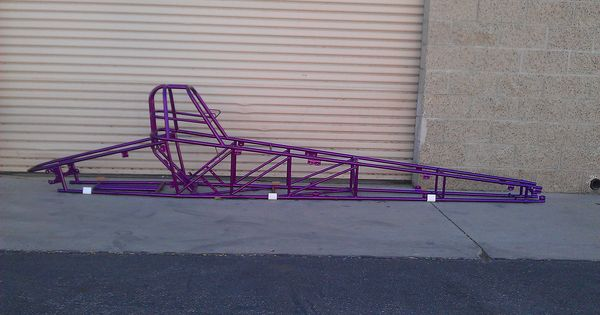 Jr Dragster Frame Powder Coated By B And B Powder Coating