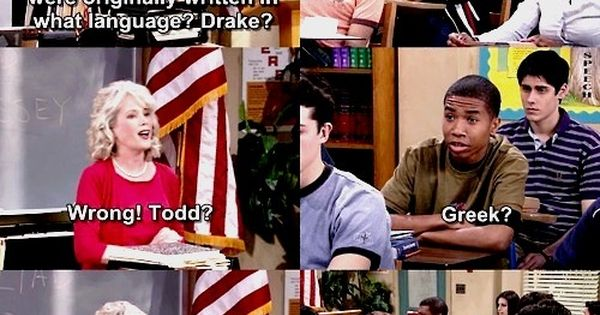 Drake & Josh. Remember this. drakeandjosh