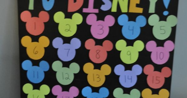 Disney Movie Night Themes as Countdown to Disney trip!