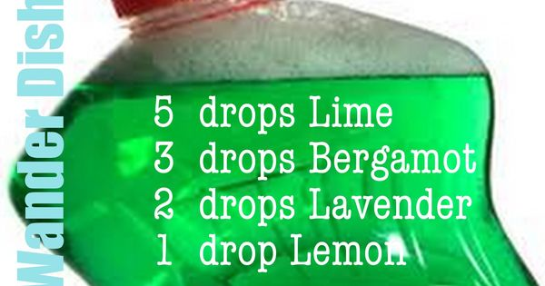 Make your own Artisan Dish Soap with essential oils. | See more