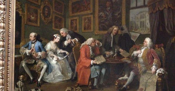 William Hogarth 1743 Marriage A La Mode 1 The Marriage