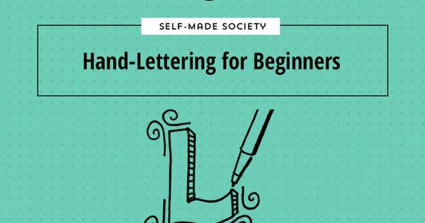 Hand lettering tips for beginners where do you begin