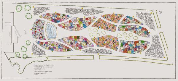 Piet Oudolf S Garden For Hauser Wirth The Field Plant Design Planting Plan Meadow Garden