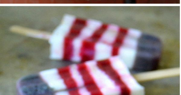 Red White and Blueberry Pops -- A delicious way to show ...