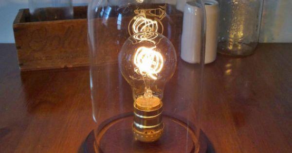 Lamp Vintage Victorian Style Light Bulb Jars Vintage And Bulbs