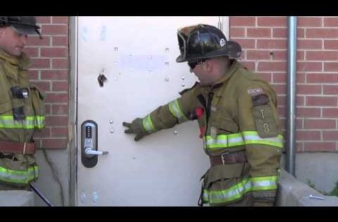 Drop Bar Forcible Entry The Irons Youtube Techniques Pinterest Firefighter