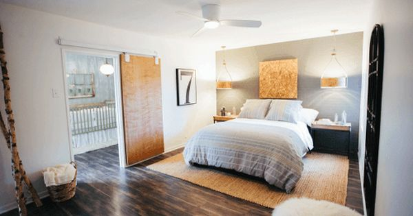 Fixer upper mid century modern master bedroom modern for Mid century modern master bedroom
