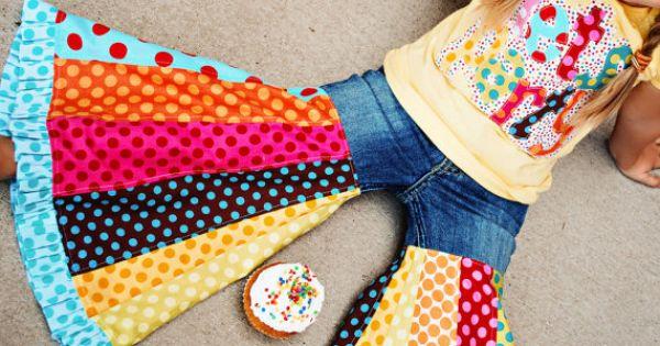 crazy skirt jeans!