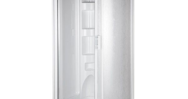mirolin 78 in h x 37 3 4 in w x 37 3 4 in l mirolin white ocean spray round corner shower kit. Black Bedroom Furniture Sets. Home Design Ideas