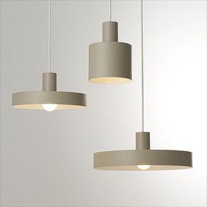 凸lamp S Deco グレージュ モダンな照明デザイン モダンな照明 インテリア 家具