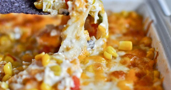 Hot Cheesy Caramelized Corn Dip Recipe ~ it is fantastic, to say