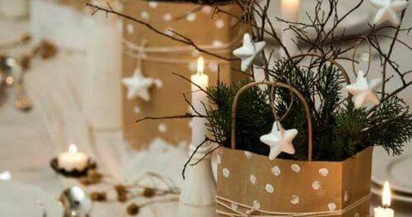 weihnachtsdeko diy ideen tischdekoration tannengruen. Black Bedroom Furniture Sets. Home Design Ideas