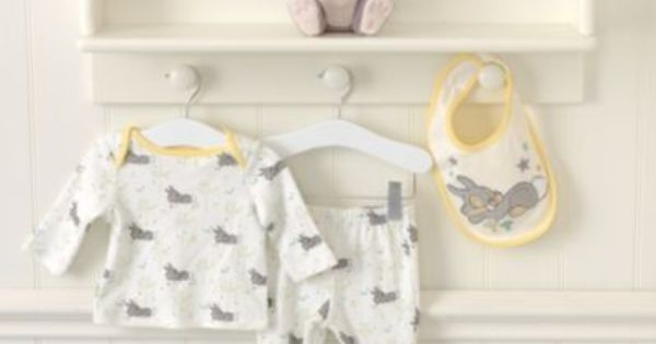 Thumper Layette Four Piece Gift Set With Images Baby Nursery