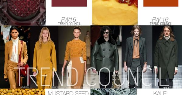 FASHION VIGNETTE: TRENDS // TREND COUNCIL - WOMEN'S AND MEN'S COLOR TRENDS