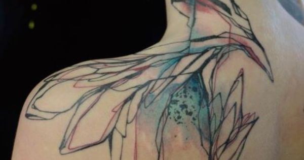Watercolour Tattoo - Niko Inko
