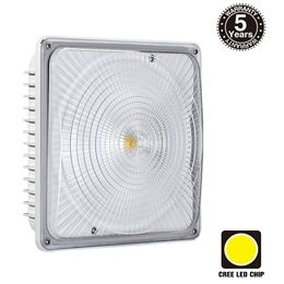 Really Bright Led Canopy Light Perfect For Garages Carports And Storage Areas Canopy Lights Garage Canopies Led Outdoor Flood Lights
