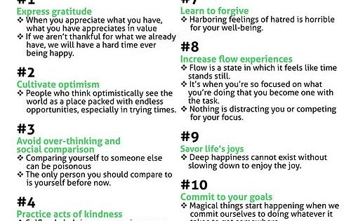 Stephen Covey ...12 Things Happy People Do Differently! Good things to remember