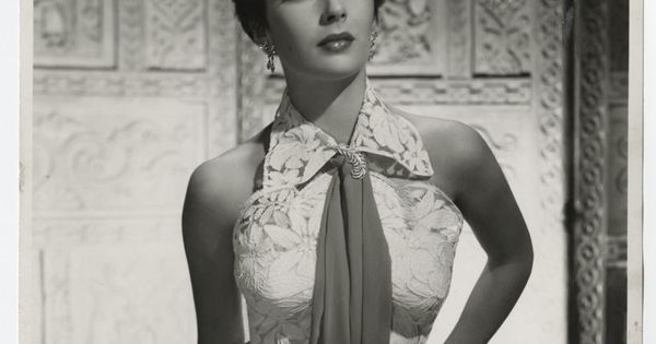 1954 young elizabeth taylor pin up beauty photograph ...