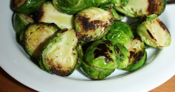 Golden-Crusted Brussels Sprouts - full details→ http ...