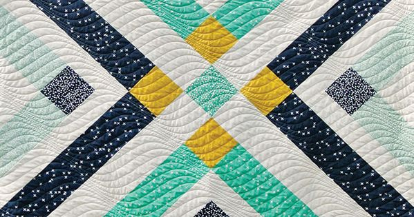 Plaid Baby Quilt: Free Retro Plaid Baby Quilt Pattern