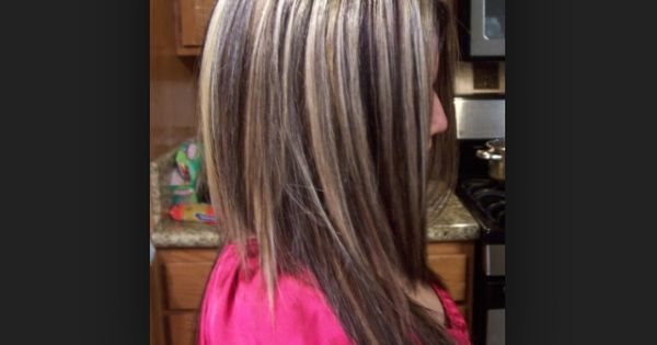 Dark Brown Hair With Blonde Highlights Hair Amp Beauty