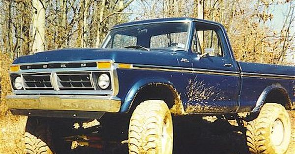 77 ford 4x4 short bed pickup bing images i keep mine clean it looks just like this one and. Black Bedroom Furniture Sets. Home Design Ideas