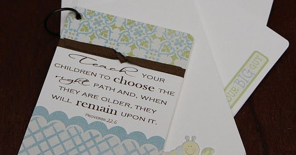 baby shower message advice and or memory book made by sarah precourt