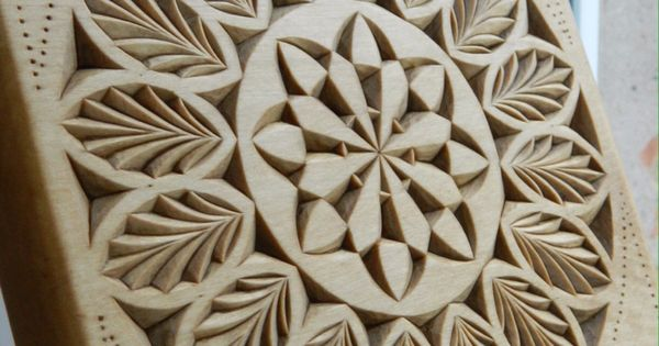 Chip carving pattern by tatiana baldina https