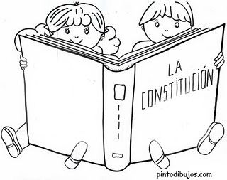 Carta De La Constitucion Hola Amiguitos Me Llamo Constitucion Y Estoy Muy Contenta Dia De La Constitucion Constitucion Para Ninos Libro De La Constitucion
