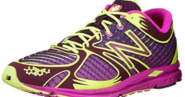 New Balance Women's W140 Glow In The Dark Running Shoe,Purple ...