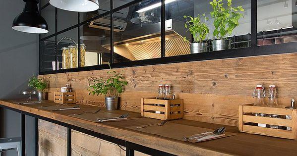 Bistro 11, Cracovia, 2014 - Superpozycja Architekci  loft style  Pinterest  식당 ...