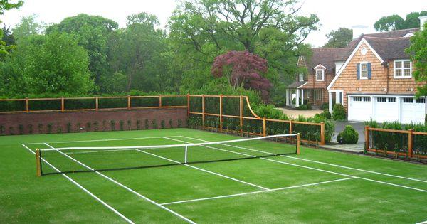 Anyone For Tennis Canchas De Tenis Decoracion Casas De Campo Piscinas