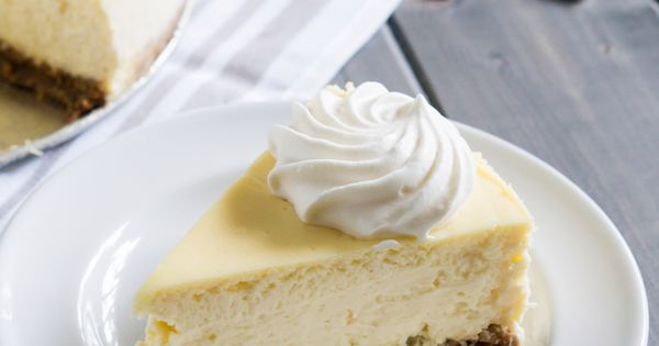 Classic cheesecake, Crusts and Cheesecake on Pinterest