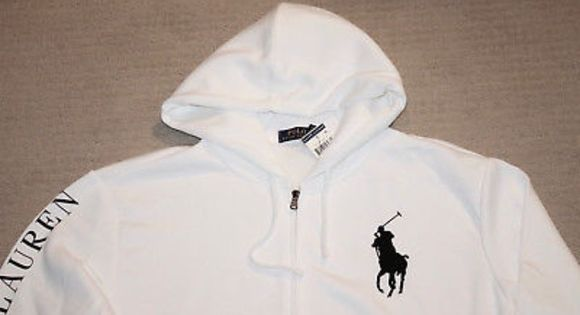 Ralph Lauren Polo Big Pony Hoodie Nwt With Images Pony Hoodie