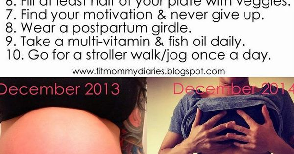 This woman lost all her baby weight and then 15lbs more by