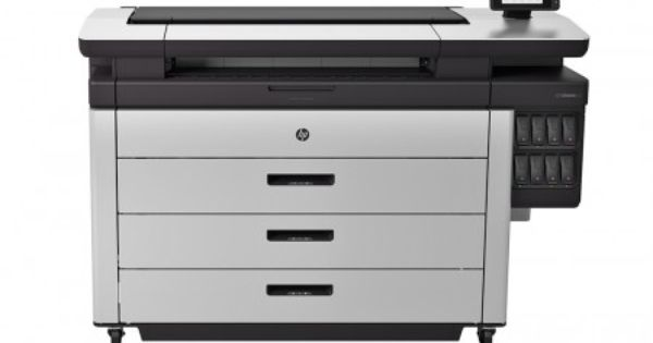 Hp Pagewide Xl 8000 Printer Cancadd Imaging Solutions Printer Large Format Cheapest Printer