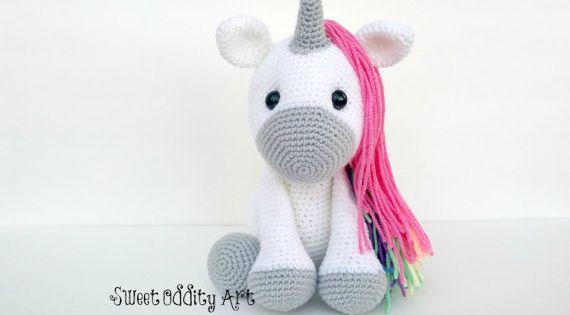unicorn crochet pattern unicorn pattern crochet by ...