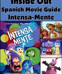 Inside Out Spanish Movie Packet With Ser Estar Imperfect With
