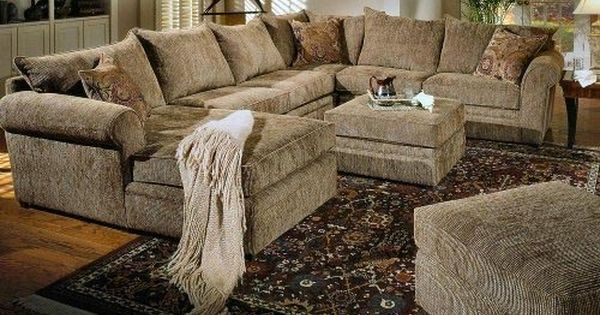 Interior furniture beige chenille fabric westwood for Beige chenille sectional sofa
