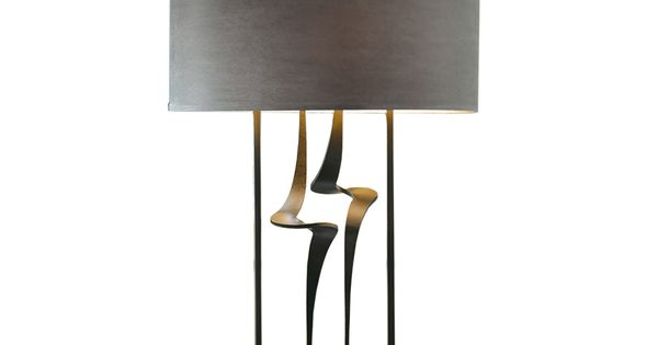 The antasia double stem table lamp by hubbardton forge illumination pinterest lights - Artistic d lamp shade designed with modern and elegant shape style ...